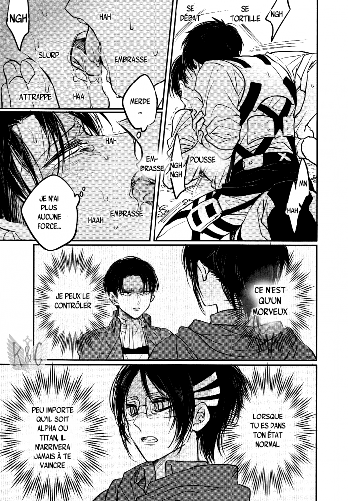 Shingeki no kyojin - love due to conscious neglect chapitre 1 partie 5