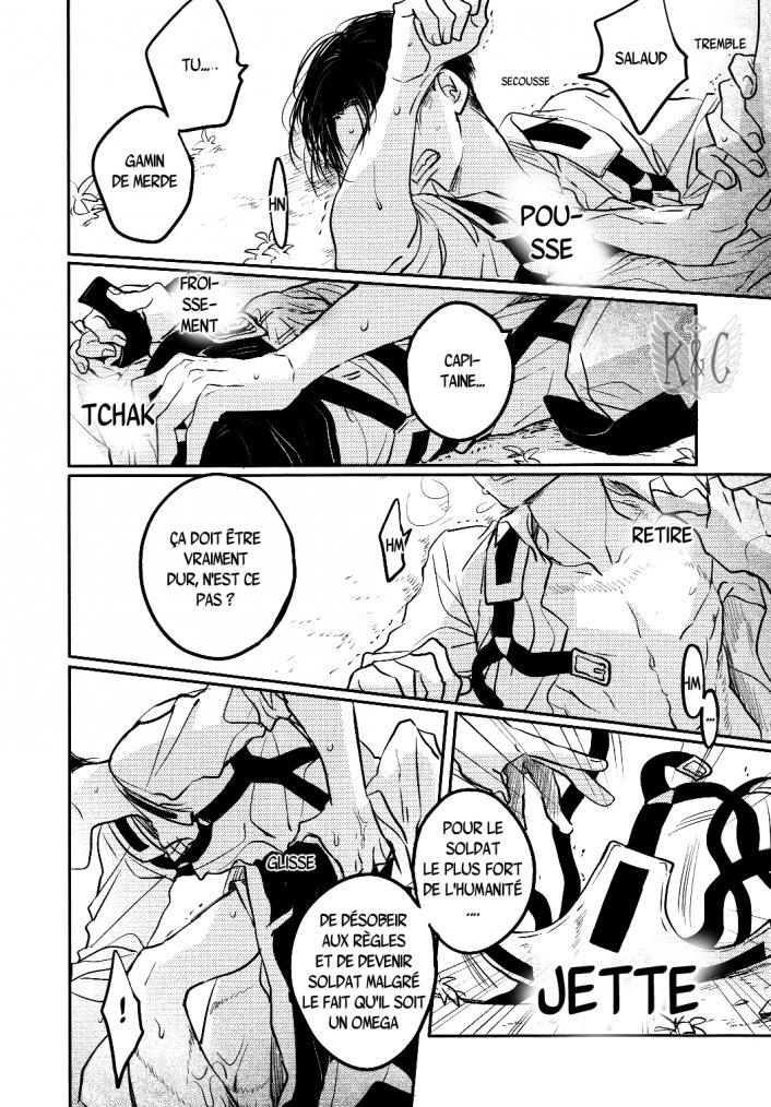 Shingeki no kyojin - love due to conscious neglect chapitre 1 partie 5