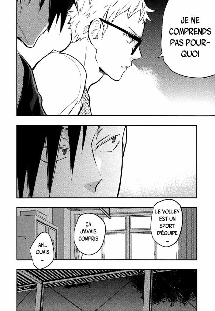 Haikyuu - KuroTsuki sairoku hon chapitre 1 partie 1