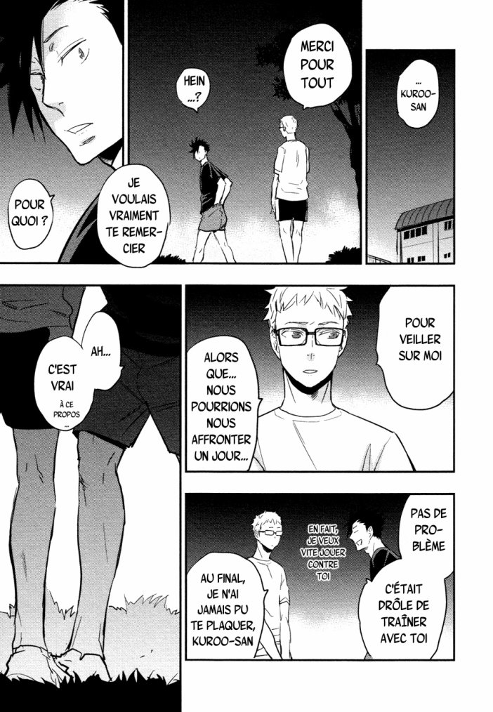 Haikyuu - KuroTsuki sairoku hon chapitre 1 partie 5
