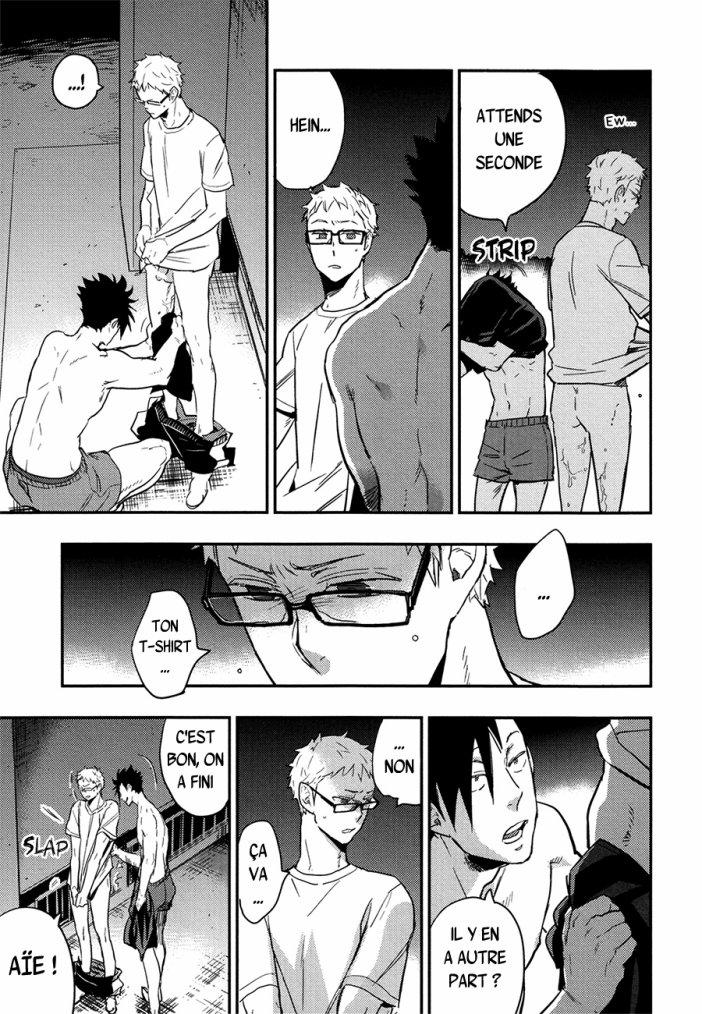 Haikyuu - KuroTsuki sairoku hon chapitre 1 partie 6