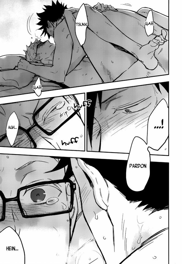 Haikyuu - KuroTsuki sairoku hon chapitre 2 partie 6