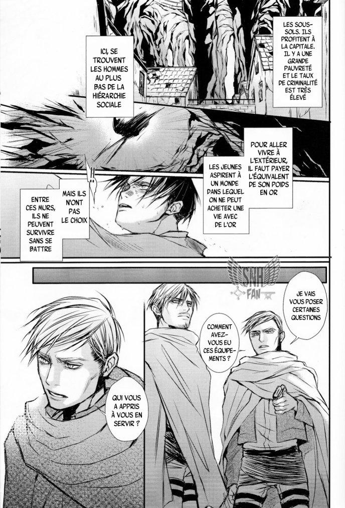 Shingeki no kyoujin - 3P threesome partie 1