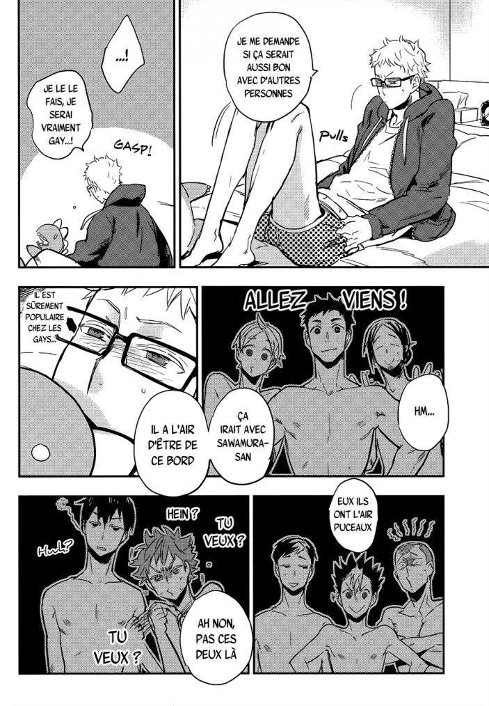 Haikyuu - KuroTsuki sairoku hon chapitre 3 partie 1