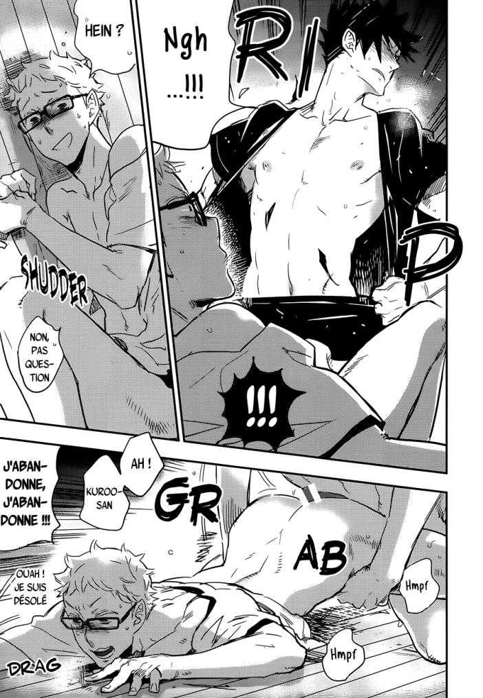 Haikyuu - KuroTsuki sairoku hon chapitre 5 partie 3