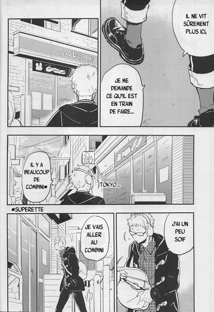 Haikyuu - Strawberry home chapitre 2 partie 1