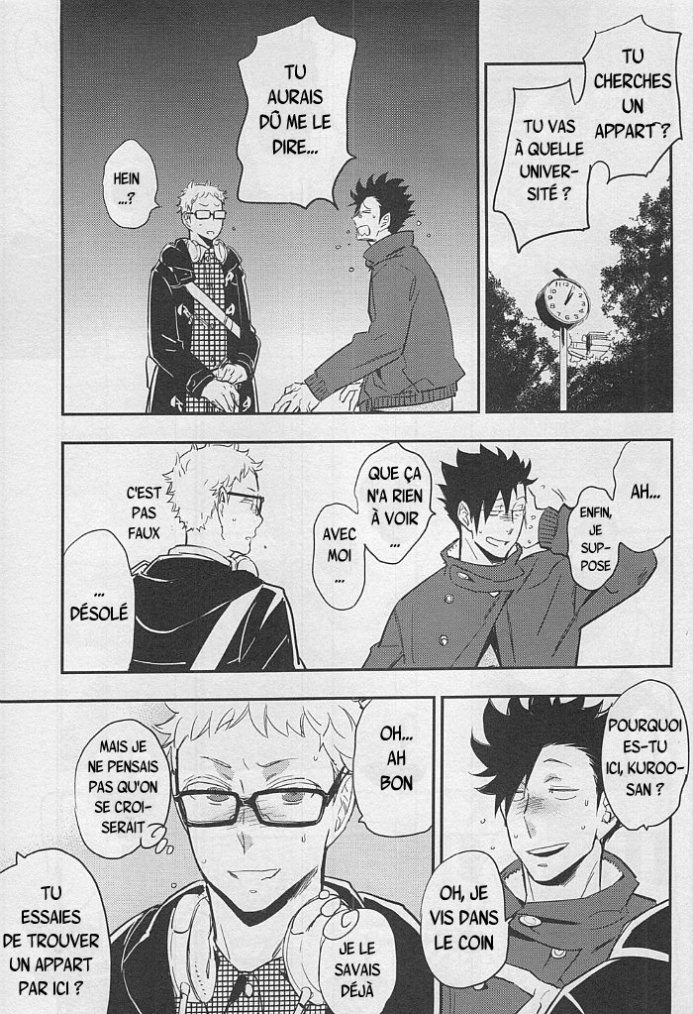 Haikyuu - Strawberry home chapitre 2 partie 2