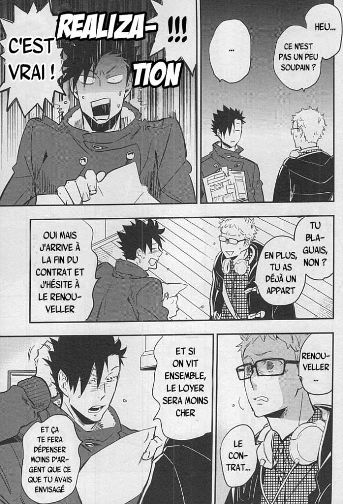 Haikyuu - Strawberry home chapitre 2 partie 3