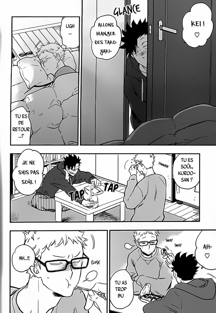 Haikyuu - Strawberry home chapitre 3 partie 1