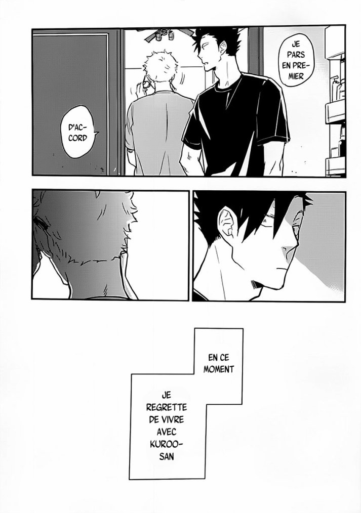 Haikyuu - Strawberry home chapitre 3 partie 3