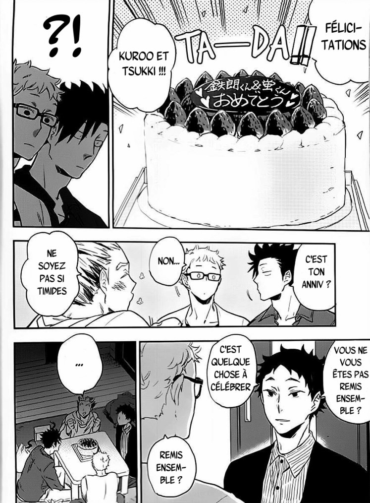 Haikyuu - Strawberry home chapitre 4 partie 1