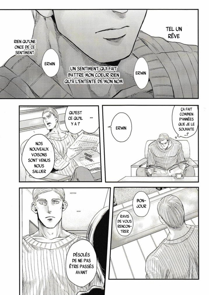 Shingeki no kyojin - Other's husband chapitre 1 partie 1