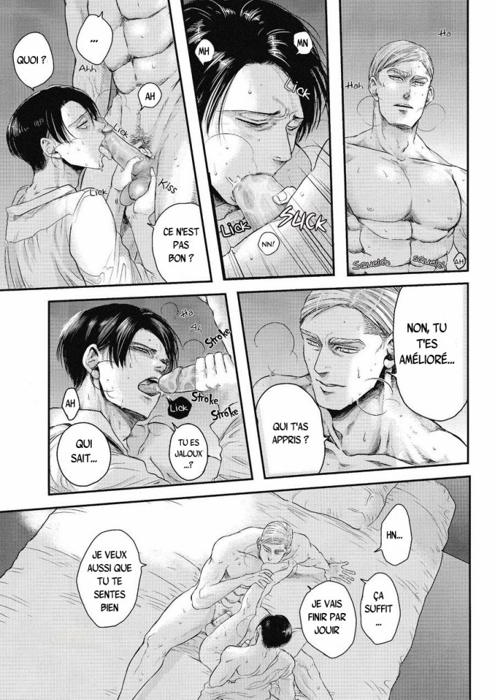 Shingeki no kyojin - Other's husband chapitre 1 partie 3