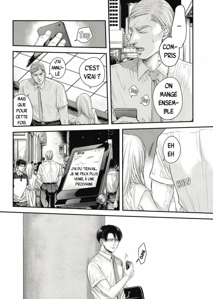 Shingeki no kyojin - Other's husband chapitre 2 partie 2