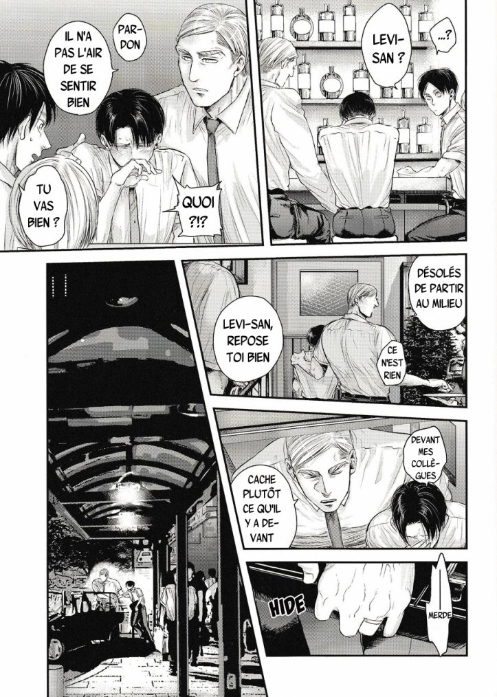 Shingeki no kyojin - Other's husband chapitre 2 partie 3