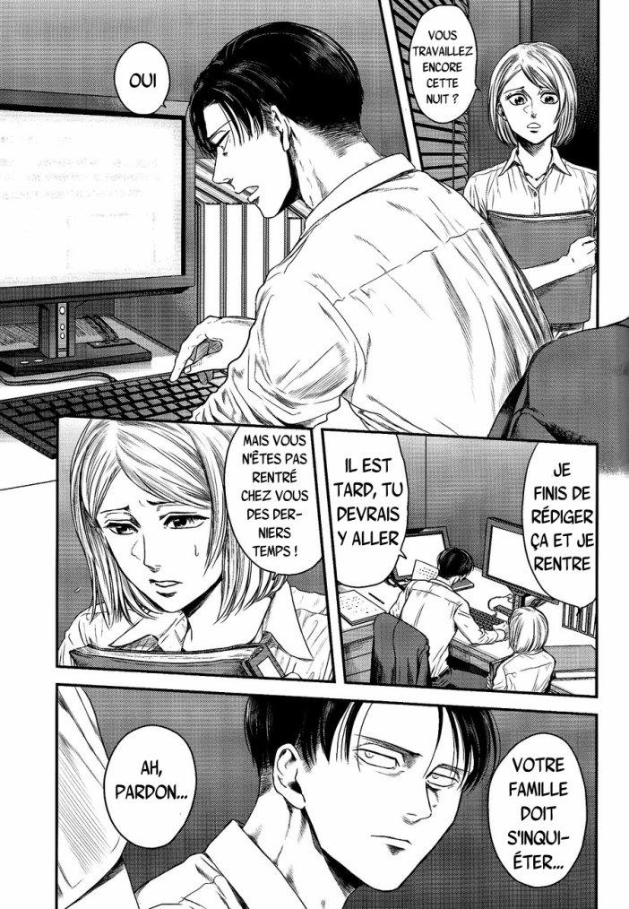 Shingeki no kyojin - Other's husband chapitre 3 partie 1