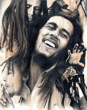 "Dieu Is My God ""Robert Nesta Marley"""