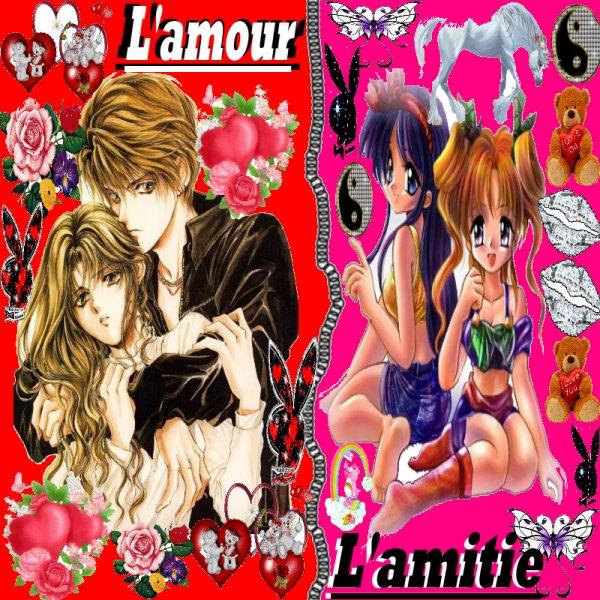 L'amour et l'amitie