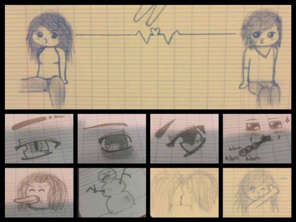 Compilation des dessins de cours. °v°