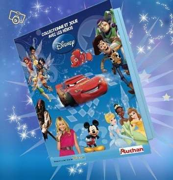 AUCHAN: CARTES DISNEY