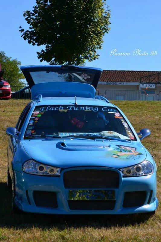 Voici la voiture tuning du président du club Flach Tuning Car 79