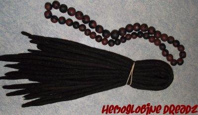 Commande d'Estelle. - Décembre 2010 - 25 dreads