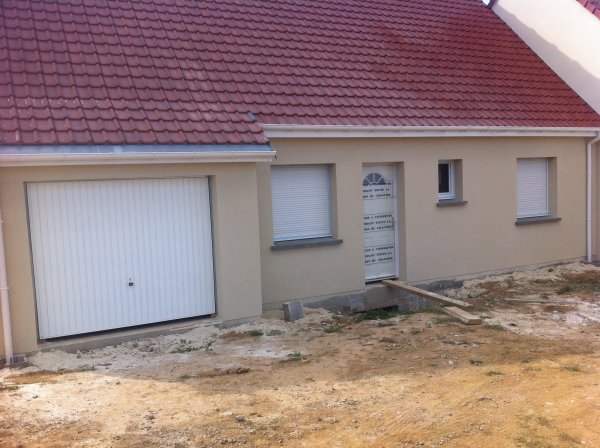 L 39 enduit exterieur la construction de notre maison par for Enduit exterieur