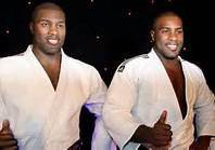 teddy riner a sa statue au musée Grevin