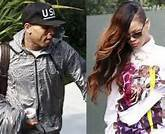 rihanna accompagane chris brown au tribunal