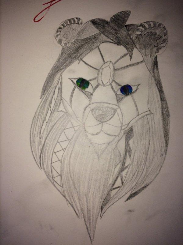 Lion tribal 2