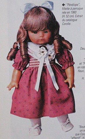 on  parle un peu  poupées