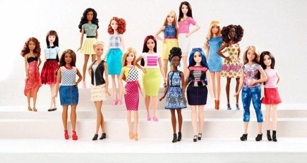 Une Barbie « ronde » : C'est la nouvelle idée de Mattel !
