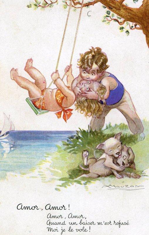 Achille Mauzan ... cartes postales anciennes !