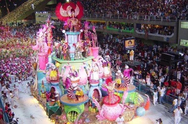 Gros plan sur le Carnaval de Rio