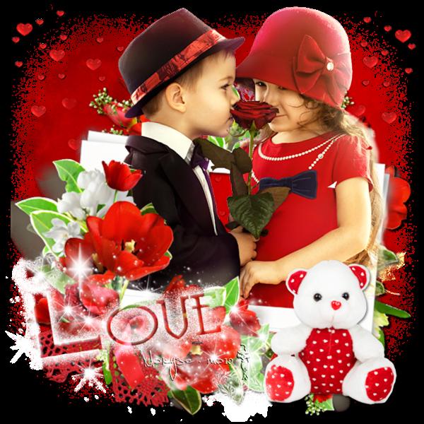 Belle Saint Valentin à tous ... grands et petits !