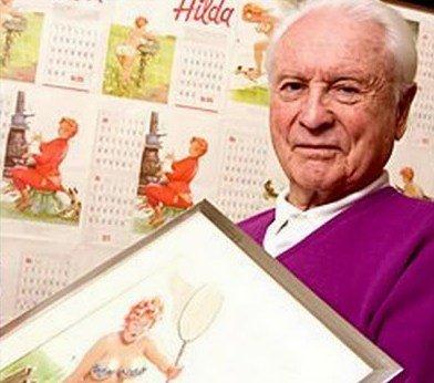 Duane Bryers ... illustrateur de calendriers !