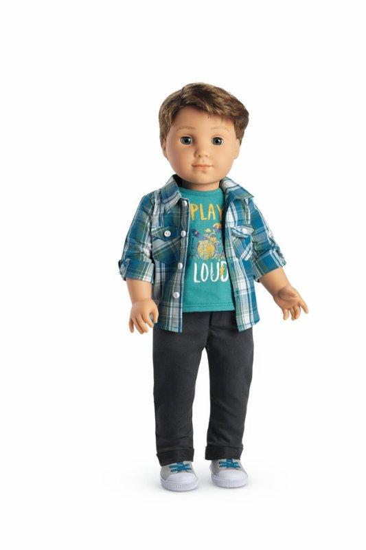 """Première poupée """"garçon"""" de la marque """"American Girl"""" !"""