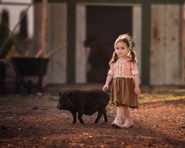 Suzy Mead ... Photographies d'art, avec sa fille Mia !