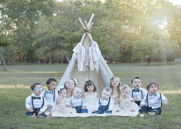 Portraits magnifiques d'enfants trisomiques ...