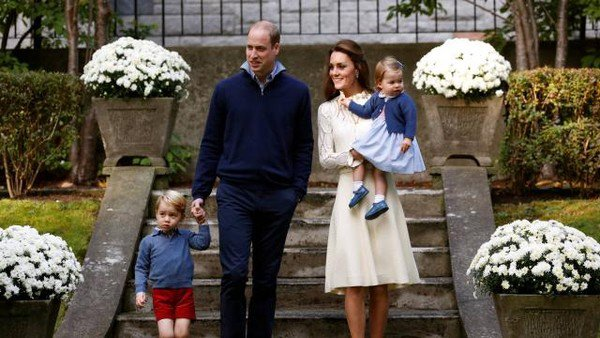 Le Prince William et Kate Middleton reçus à l'Elysée !
