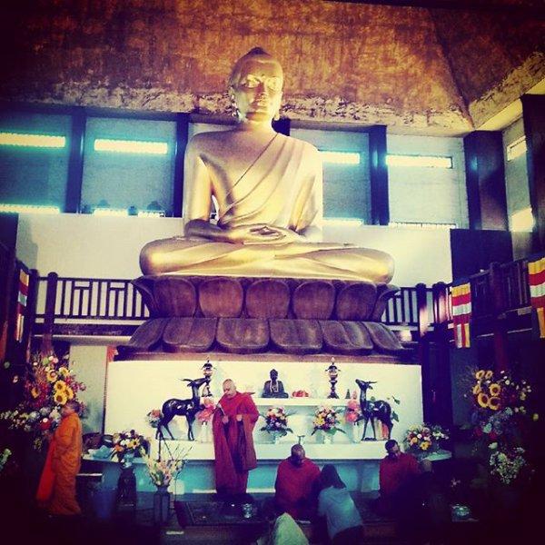 Un temple bouddhiste au coeur du bois de Vincennes