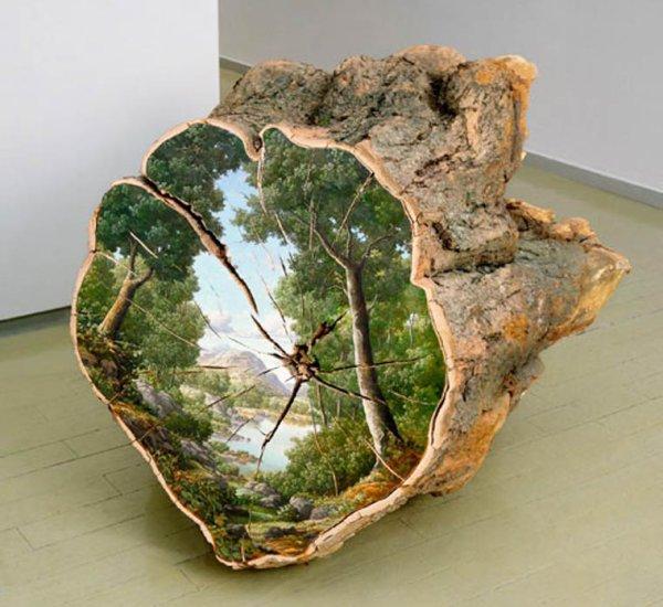 Hommage aux forêts et aux paysages champêtres