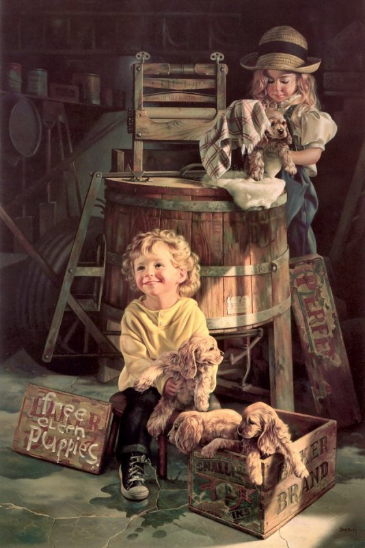 Bob Byerley ... art of children !