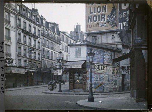 La pub à Paris dans les années 1900