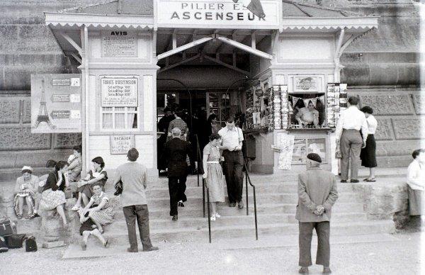 Paris dans les années 50