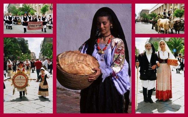 Le costume traditionnel sarde