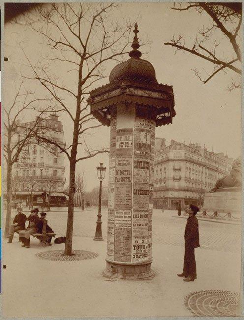Les colonnes Morris
