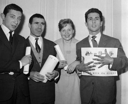 Marcel Amont et ses copains du métier
