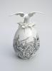 Beaux oeufs de pâques en céramique de Juliette Clovis