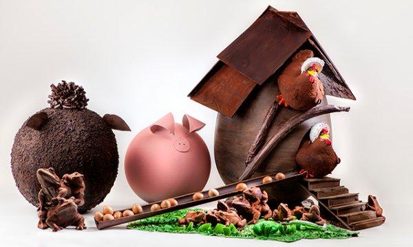 Chocolats de Pâques ... à partager !